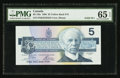 Canadian Currency: , BC-56a $5 1986 Solid Three Serial Number. ...
