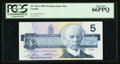 Canadian Currency: , BC-56cA $5 1986 Replacement Note FNX Prefix. ...