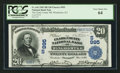 National Bank Notes:Kentucky, Winchester, KY - $20 1902 Date Back Fr. 642 The Clark County NB Ch.# (S)995. ...
