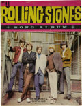 Music Memorabilia:Recordings, Rolling Stones Records, Songbook, and Sheet Music Group(1964-68)....