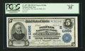 National Bank Notes:Pennsylvania, Osceola Mills, PA - $5 1902 Plain Back Fr. 607 The Peoples NB Ch. #(E)11966. ...