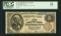 National Bank Notes:Pennsylvania, Susquehanna Depot, PA - $5 1882 Brown Back Fr. 467 The First NB Ch.# 1053. ...