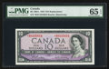 Canadian Currency: , BC-40bA $10 1954 Replacement Note *B/D Prefix. ...