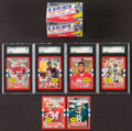 Football Cards:Sets, 1985 Topps USFL High Grade Complete Set (132)....