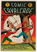 Golden Age (1938-1955):Superhero, Comic Cavalcade #7 (DC, 1944) Condition: FN/VF....