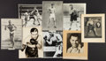 Boxing Collectibles:Memorabilia, Vintage Boxing Photographs Lot of 8....