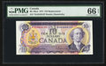 Canadian Currency: , BC-49aA $10 1971 Replacement Note *DA Prefix. ...