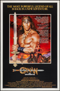 "Movie Posters:Action, Conan the Destroyer & Other Lot (Universal, 1984). One Sheets(2) (27"" X 41""). Action.. ... (Total: 2 Items)"