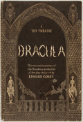 Books:Art & Architecture, Edward Gorey. Dracula: A Toy Theatre. New York: Scribners [1979]. First edition. Fully illustrated examples of sets ...