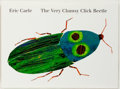 Books:Children's Books, Eric Carle. SIGNED. The Very Clumsy Click Beetle. New York:Philomel Books, [1998]. First printing. Carle's signatur...