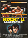 """Movie Posters:Sports, Rocky II (United Artists, 1979). French Petite (15.5"""" X 21.25""""). Sports.. ..."""