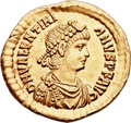 Ancients:Roman Imperial, Ancients: Valentinian II (AD 375-392). AV solidus (22mm, 4.48 gm, 12h)....