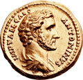 Ancients:Roman Imperial, Ancients: Antoninus Pius, as Caesar (AD 117-138). AV aureus (21mm, 7.41 gm, 6h). ...