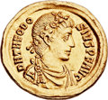 Ancients:Roman Imperial, Ancients: Theodosius I the Great (AD 379-395). AV solidus (22mm,4.48 gm, 12h). ...