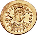 Ancients:Roman Imperial, Ancients: Leo I the Great, Eastern Roman Emperor (AD 457-474). AV solidus (21mm, 4.47 gm, 5h)....