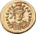 Ancients:Roman Imperial, Ancients: Leo I the Great, Eastern Roman Emperor (AD 457-474). AV solidus (21mm, 4.48 gm, 5h)....