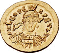 Ancients:Roman Imperial, Ancients: Leo I the Great, Eastern Roman Emperor (AD 457-474). AV solidus (21mm, 4.49 gm, 6h)....