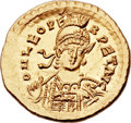 Ancients:Roman Imperial, Ancients: Leo I the Great, Eastern Roman Emperor (AD457-474). AV solidus (21mm, 4.50 gm, 5h)....