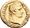 Ancients:Roman Imperial, Ancients: Augustus (27 BC-AD 14). AV aureus (20mm, 7.70 gm, 11h). ...