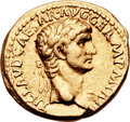 Ancients:Roman Imperial, Ancients: Claudius (AD 41-54). AV aureus (19mm, 7.77 gm,6h). ...