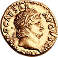 Ancients:Roman Imperial, Ancients: Nero (AD 54-68). AV aureus (19mm, 7.29 gm, 4h). ...