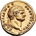 Ancients:Roman Imperial, Ancients: Domitian, as Caesar (AD 69-81). AV aureus (20mm, 7.39 gm,6h). ...