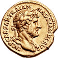Ancients:Roman Imperial, Ancients: Hadrian (AD 117-138). AV aureus (20mm, 7.04 gm, 6h). ...