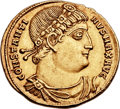 Ancients:Roman Imperial, Ancients: Constantine I the Great (AD 307-337). AV solidus (22mm, 4.60 gm, 12h). ...