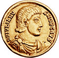Ancients:Roman Imperial, Ancients: Julian II, as Caesar (AD 355-360). AV solidus (21mm, 4.26 gm, 6h). ...