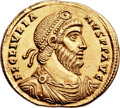 Ancients:Roman Imperial, Ancients: Julian II 'The Philosopher' (AD 360-363). AV solidus(22mm, 4.41 gm, 6h)....