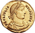 Ancients:Roman Imperial, Ancients: Julian II 'The Philosopher' (AD 360-363). AV solidus(22mm, 4.46 gm, 12h). ...