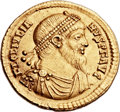 Ancients:Roman Imperial, Ancients: Julian II 'The Philosopher' (AD 360-363). AV solidus(22mm, 4.45 gm, 12h)....