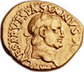 Ancients:Roman Imperial, Ancients: Vespasian (AD 69-79). AV aureus (20mm, 7.32 gm, 6h). ...