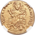 Ancients:Byzantine, Ancients: Romanus I and Christopher (AD 923-931). AV solidus (20mm,4.36 gm, 6h)....