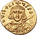 Ancients:Byzantine, Ancients: Tiberius III (AD 698-705). AV solidus (19mm, 4.47 gm,6h)....