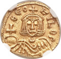 Ancients:Byzantine, Ancients: Theophilus (AD 829-842). AV solidus (15mm, 3.75 gm, 6h)....