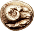 Ancients:Greek, Ancients: LESBOS. Mytilene. Ca. 521-478 BC. EL hecte or sixthstater (10mm, 2.51 gm, 1h)....