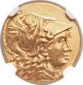 Ancients:Greek, Ancients: MACEDONIAN KINGDOM. Alexander III the Great (336-323 BC).AV stater (17mm, 8.55 gm, 2h)....