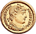 Ancients:Roman Imperial, Ancients: Valentinian I (AD 364-375). AV solidus (21mm, 4.47 gm, 6h)....
