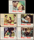 "Movie Posters:Adventure, Rope of Sand (Paramount, 1949). Lobby Cards (5) (11"" X 14"").Adventure.. ... (Total: 5 Items)"