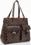 Luxury Accessories:Bags, Louis Vuitton Damier Ebene Canvas Uzes Tote Bag . ...