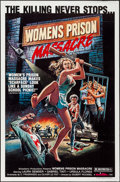 "Movie Posters:Exploitation, Women's Prison Massacre & Other Lot (Unistar, 1984). One Sheets(2) (27"" X 41""). Exploitation.. ... (Total: 2 Items)"