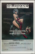 "Movie Posters:Adult, Rollerbabies (Gail Film, 1976). One Sheet (27"" X 41"") Flat-Folded. Adult.. ..."