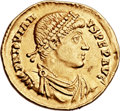 Ancients:Roman Imperial, Ancients: Jovian (AD 363-364). AV solidus (23mm, 4.50 gm,6h). ...