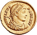 Ancients:Roman Imperial, Ancients: Valens (AD 364-378). AV solidus (23mm, 4.53 gm,5h). ...