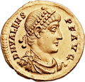 Ancients:Roman Imperial, Ancients: Valens (AD 364-378). AV solidus (22mm, 4.49 gm, 12h). ...