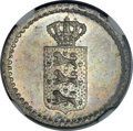 Danish West Indies: Frederik VI 2 Skilling 1837