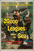"""Movie Posters:Science Fiction, 20,000 Leagues Under the Sea (Buena Vista, R-1971). Poster (40"""" X60""""). Science Fiction.. ..."""
