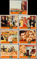 """Movie Posters:Foreign, Topkapi (United Artists, 1964). Lobby Cards (7) (11"""" X 14""""). Foreign.. ... (Total: 7 Items)"""