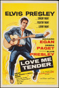 "Movie Posters:Elvis Presley, Love Me Tender (20th Century Fox, 1956). British Double Crown (20"" X 30""). Elvis Presley.. ..."